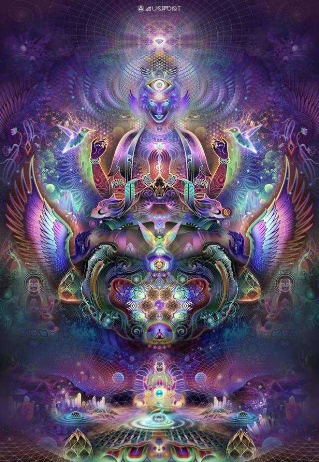 Violet dimensional expansion