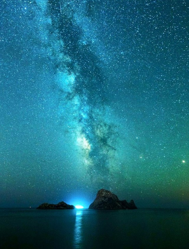Ibiza Milky Way