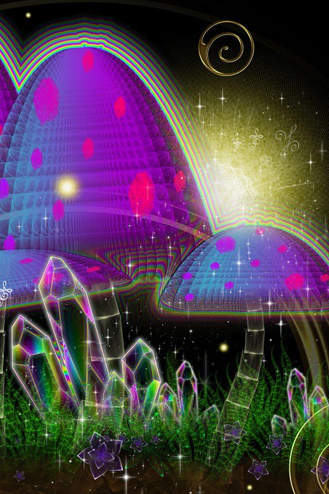 Sam Farrand_Crystal Shrooms