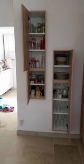 meuble intégré cuisine gardante
