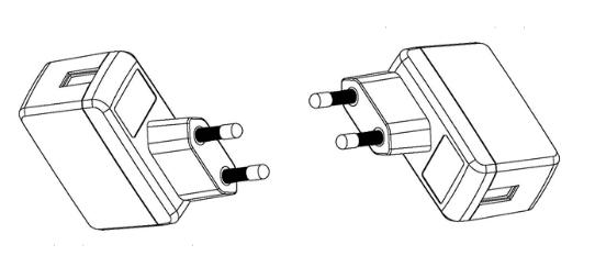 Power Supply Universal USB Power Adapter Micro USB EU