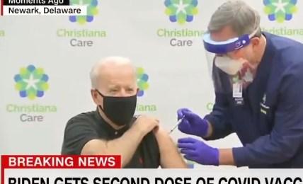 biden vakcína prezident
