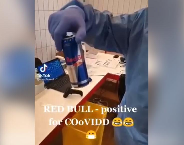 redbull test covid
