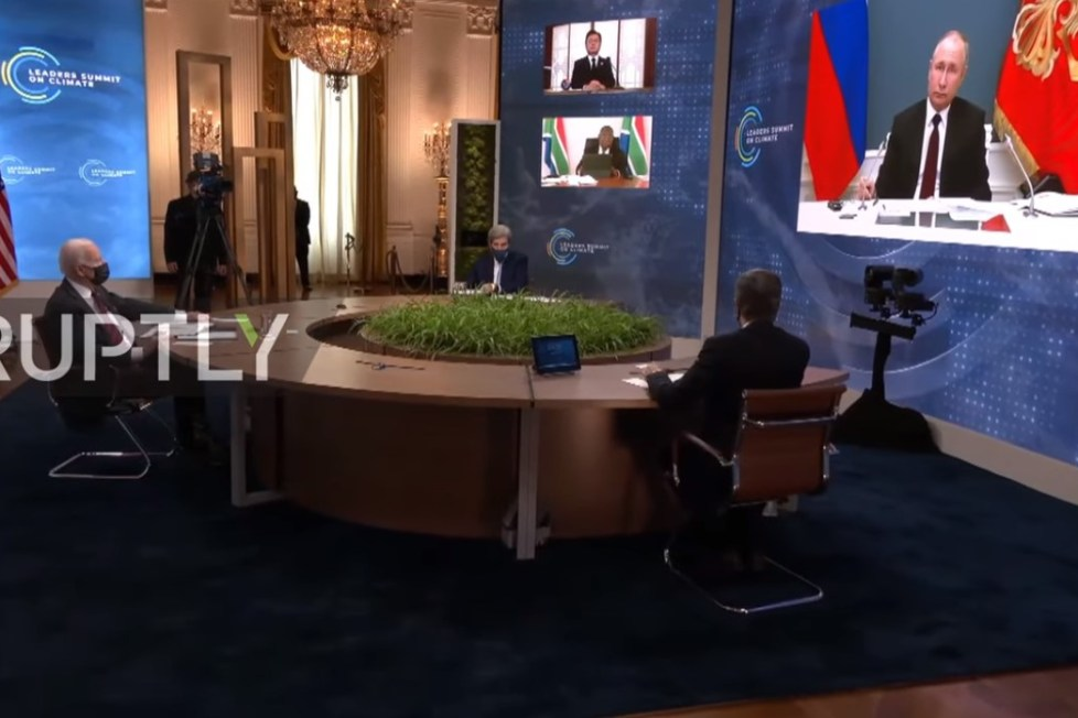 putin klimatický summit