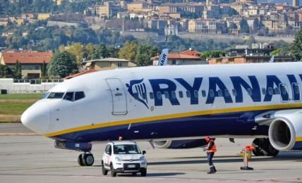 bělorusko letadlo ryanair