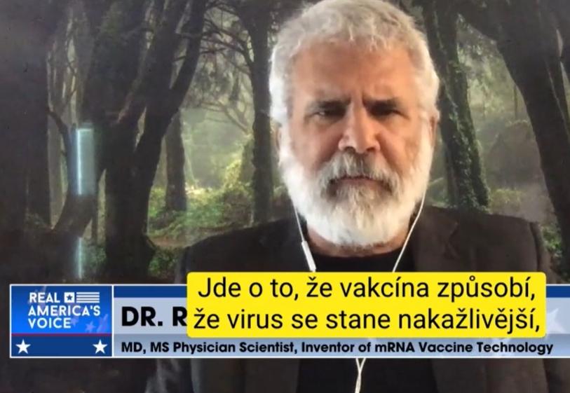 vynálezce mrna vakcín
