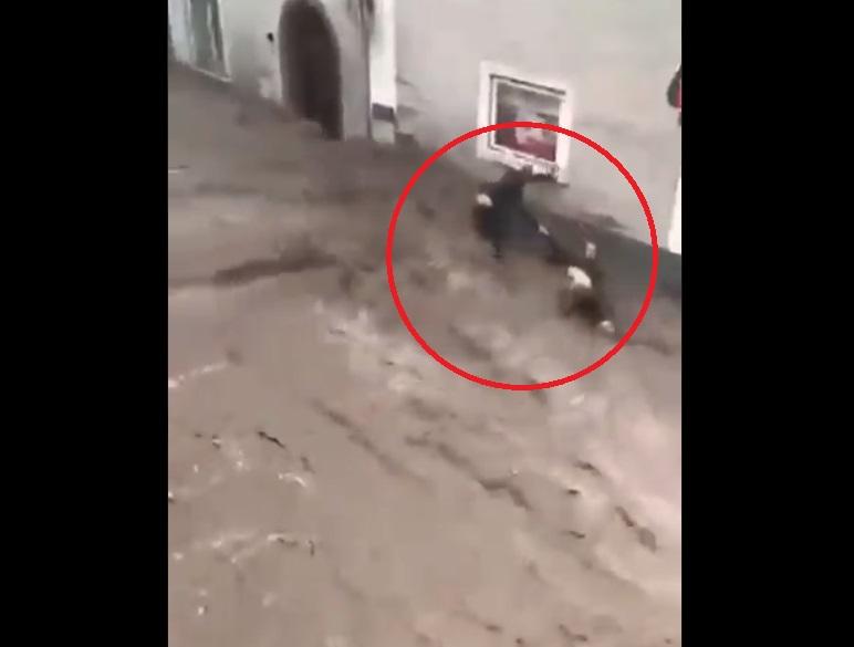 muž zachránil