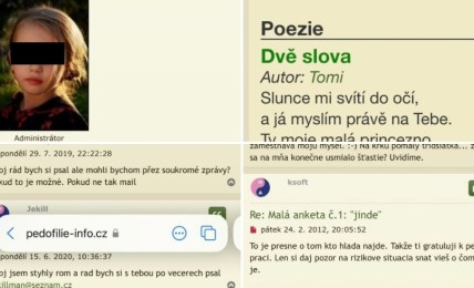 pedofilie čepek česko
