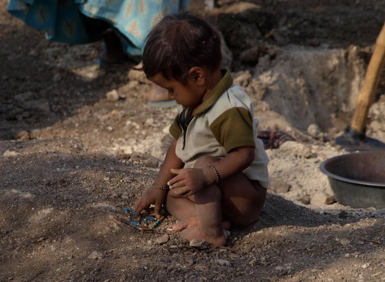 obchod s dětmi indie