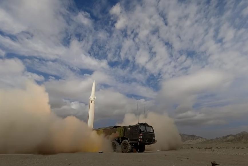 čínská armáda rakety