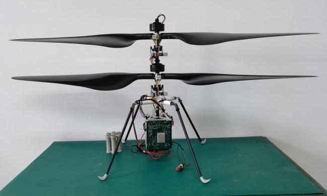 mars vrtulník