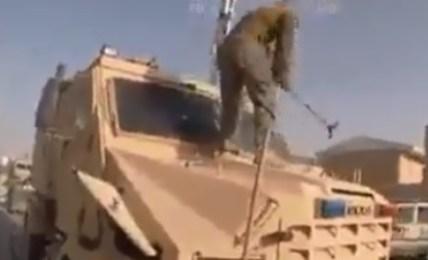 američtí vojáci technika