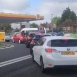 velká británie benzin