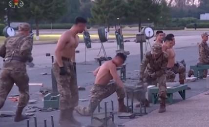 severní korea vojáci