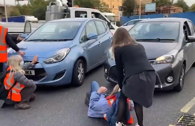 protest aktivisté
