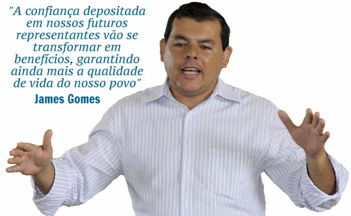 James Gomes frase