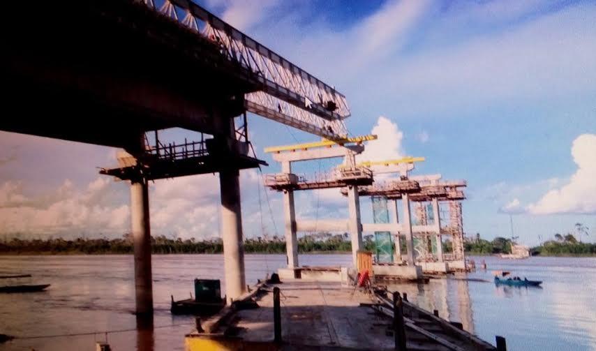 Comissão Técnica do DNIT garante normalidade em obra da ponte sobre o Rio Madeira