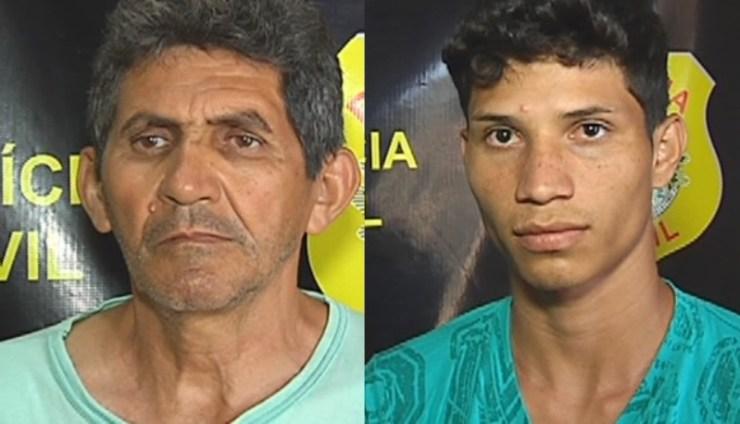 273740084 Um jovem e um idoso foram presos nesta terça-feira (26) durante a Operação  Cinderela, deflagrada no município do Bujari. A operação visa prender  pessoas que ...