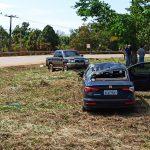 Mulher perde controle da direção e capota veículo na rodovia AC-40