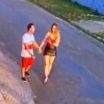 Após atropelar Jonhliane, câmeras de segurança flagram Ícaro de mãos dadas com a namorada