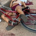 Criminosos em motocicleta executam mulher com tiro na cabeça na Cidade Nova