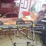 Policial reage a assalto e acaba ferido com um tiro no peito no Novo Calafate