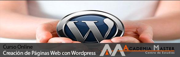 Curso Online Creacion de paginas web con WordPress Academia Master Informatica Marbella Malaga