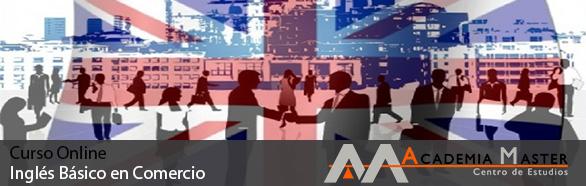 Curso Online Inglés Básico en Comercio Academia Master Informatica Marbella-Malaga