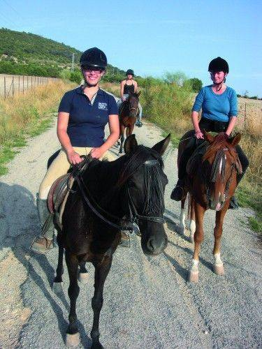 horseback riding spanish course andalusia
