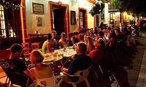 Curso de alemán de verano cena con alumnos alemanes