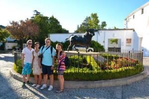 Ausflug nach Ronda mit den Spanischsprachschülern