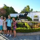 Ausflug nach Ronda mit den Spanischsprachschülern an der Stierkampfarena II