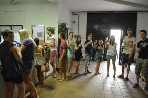 Wine tasting session at a traditional Sherry winery in Prado del Rey. ¡Salud!