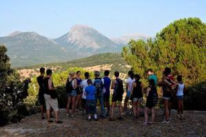 Hiking to the viewpoint of Prado del Rey on the first day of the Spanish course