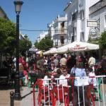 Pedestrian street of Prado del Rey