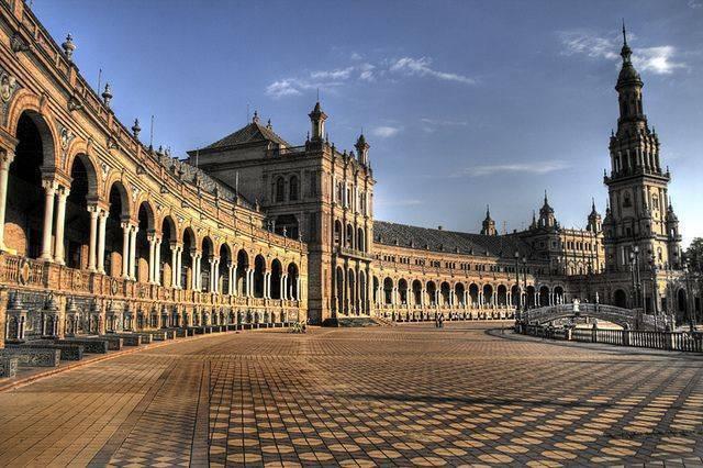 Andalucía: Sevilla Plaza de España