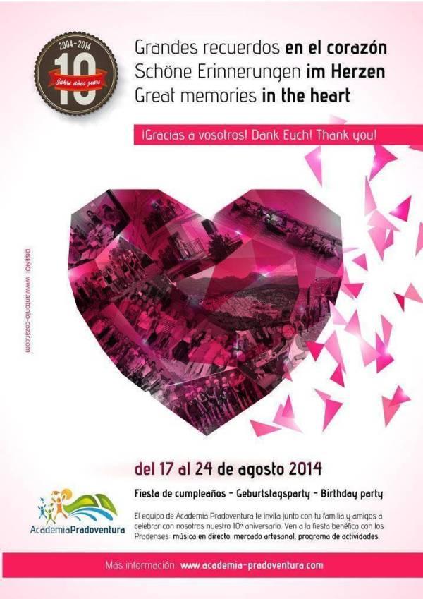 fiesta 10 aniversario Academia Praodventura