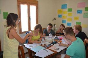 Intensiv Spanish class in Andalusia for students