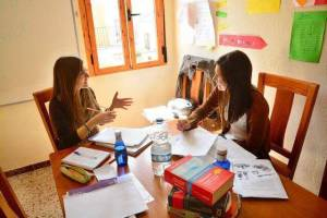 interactive Spanish class in Prado del Rey