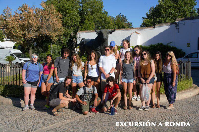 Excursión a Ronda con grupo de escolares de USA