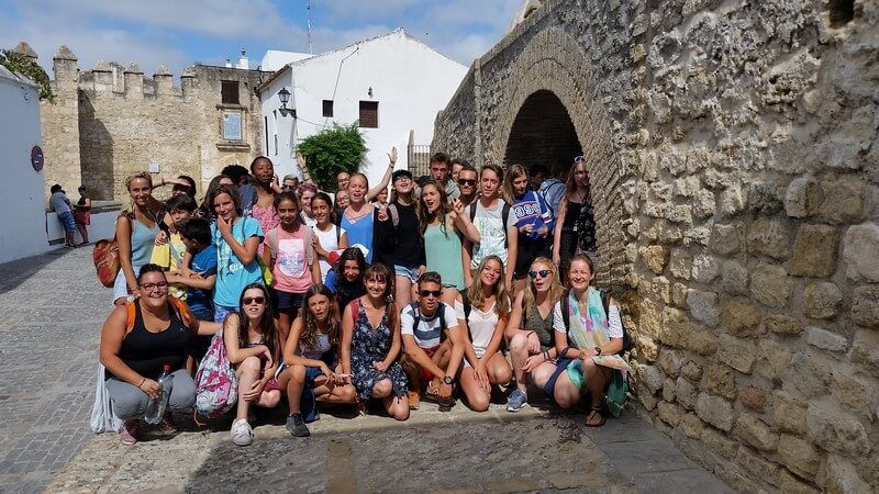 Trip with the language sudents from Prado del Rey