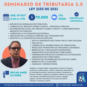 Seminario Ley 2155 de 2021