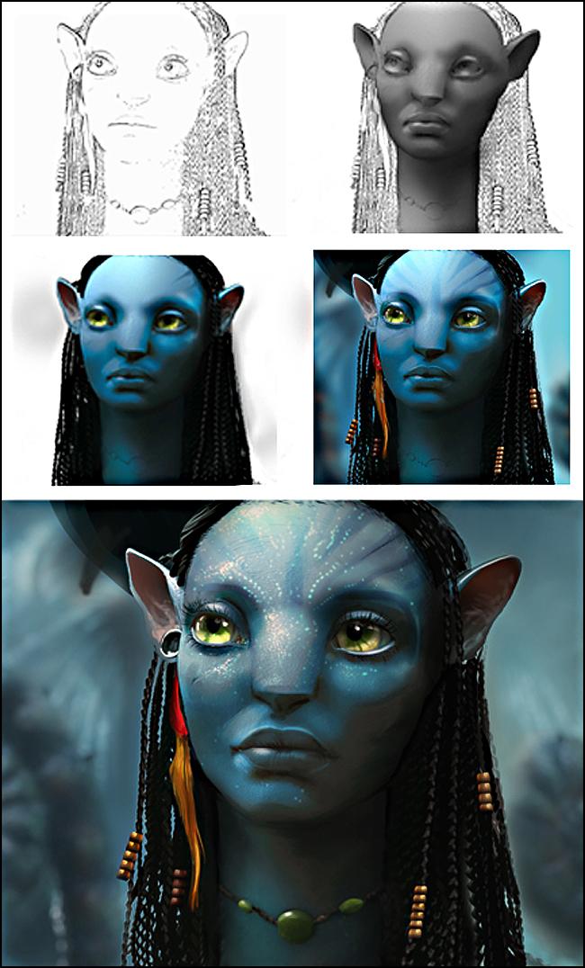 Avatar en cursos de ilustracion digital de academia c10.