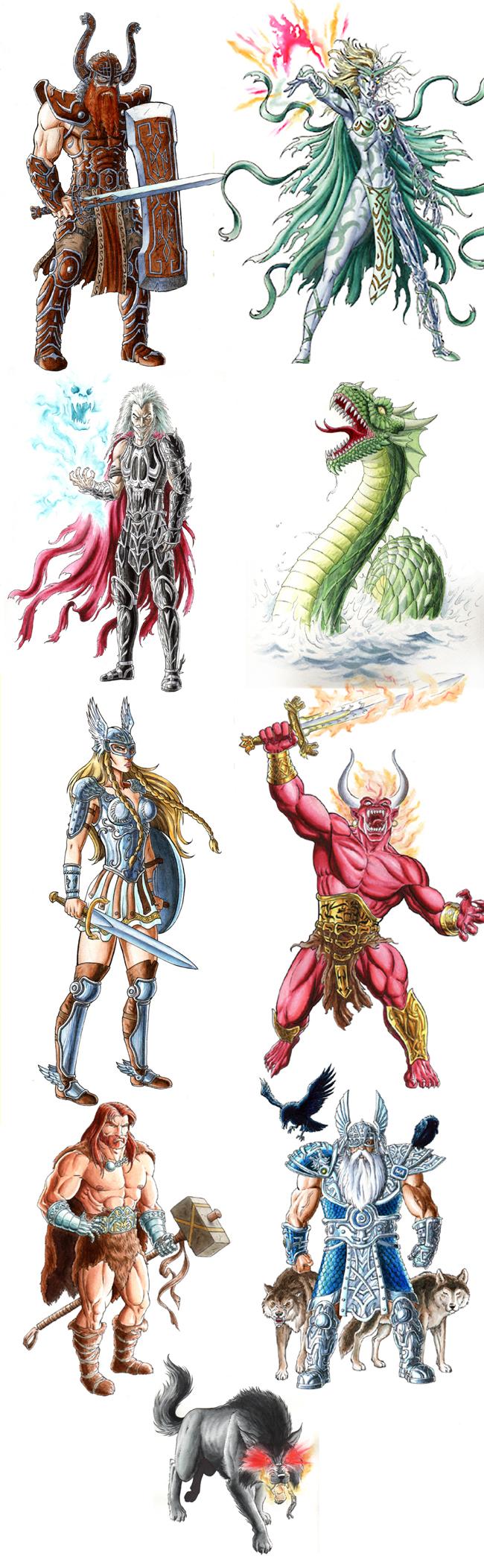 Personajes de Mariano Saura