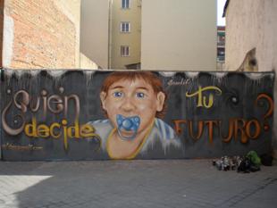 Grafitti de David.