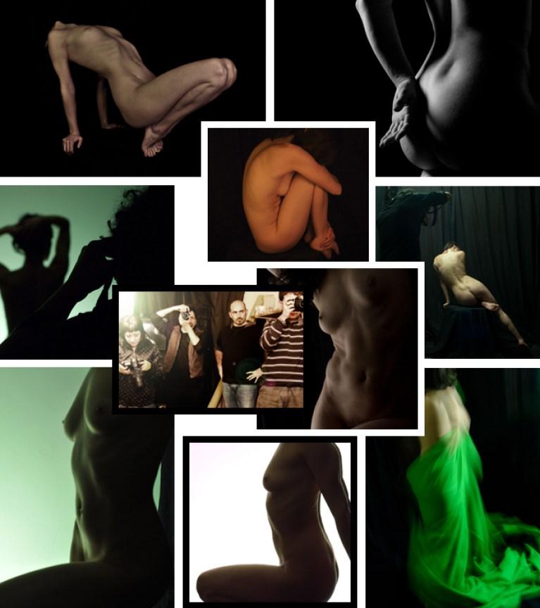 Cursos de fotografia erotica de desnudo. Academia C10.