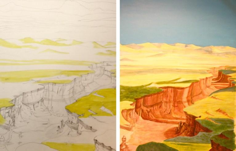 Noelia, trabajo de cursos de ilustracion.