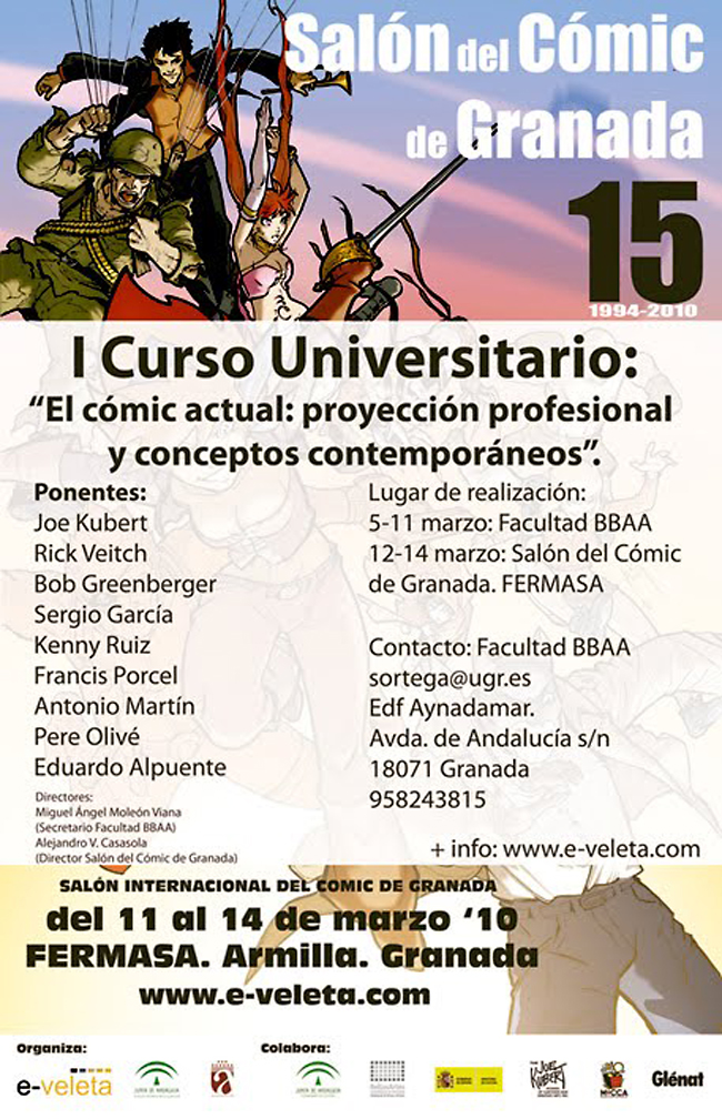 Salon del comic de Granada.