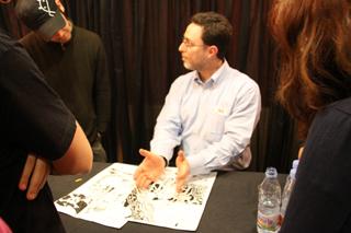 Bob Greenberger en los cursos de cómic de Academia C10.