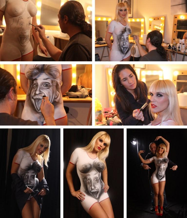 Micro Cursos de Body Painting en Academia C10.